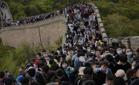 【中国の5連休】各地で大混雑 中国人はコロナを全く恐れていない