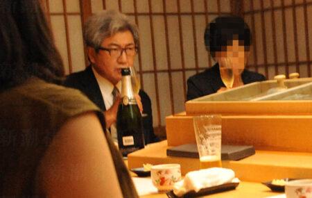 【やはりコロナは嘘だと知っている】外出自粛を強要した日本医師会・中川会長がお忍びデート