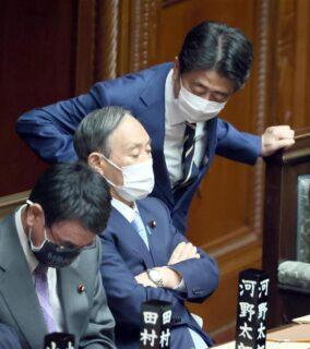 影武者の安倍晋三「菅首相が続投すべき」李家の復権を目論む
