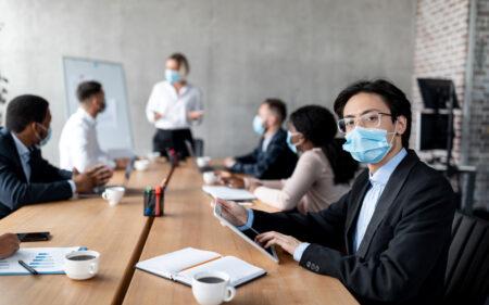 【名古屋】コロナ対策にマスクは無意味!! 打ち合わせ中にマスクをしていても感染