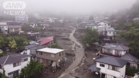 【熱海市】太陽光パネルが大規模土砂災害を誘発  李家の金儲けのために多くの日本人が犠牲に
