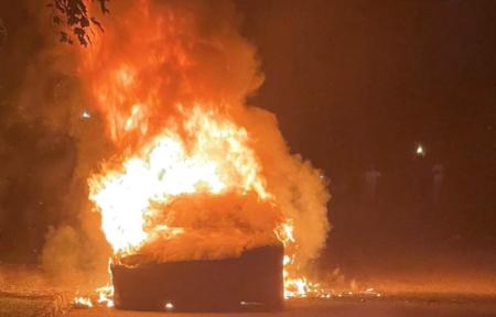 テスラのEV車が納車わずか3日で発火炎上 搭載していた電池は創価企業パナソニック製