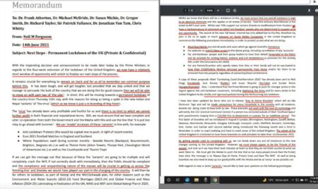 「イギリス政府関係者からのリーク」イルミナティによるコロナ計画の全貌と今後の人民支配の計画の詳細が流出!