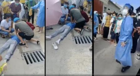 【中国】コロナワクチンを接種した男子中学生、その場で即死