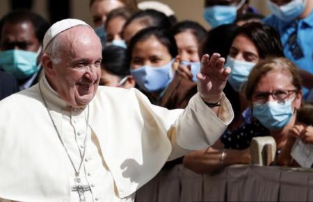 幼児の性的虐待・大量虐殺に関わってきたローマ教皇が「人類とワクチンには友情の歴史がある」と述べ、人口削減に加担していることを公言