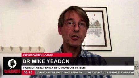ファイザー元副社長のマイケル・イードン博士が警告「3回目のコロナワクチン接種に近づいてはいけない」