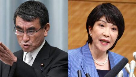 日本人モドキの河野太郎と高市早苗「ロックダウン」の必要性を訴え、日本経済を破綻させ、中国人=李家による日本乗っ取り加速へ