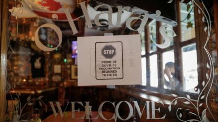 ニューヨーク市の飲食店、ワクチンパスポートの提示義務化により売り上げが半減 日本ではワクチンを勧める報道が激減し、FCC真実法適用の噂が流れる