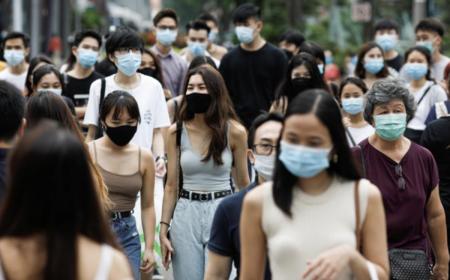 【進む人口削減】コロナワクチン接種率8割強のシンガポールで昨年から23万人も人口が減少していることが判明