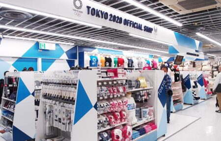 【50店舗】 オリンピックまで持たず、公式グッズ店閉まる