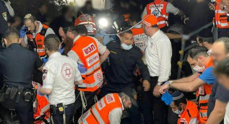 【コロナより危険】イスラエルの宗教行事で押し合い 44人死亡