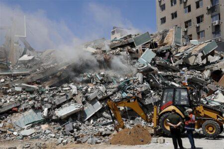 【国際テロ組織は存在しない】解体作業したビルを空爆したと発表するイスラエル軍 ユダヤ人は息を吐くように嘘をつく