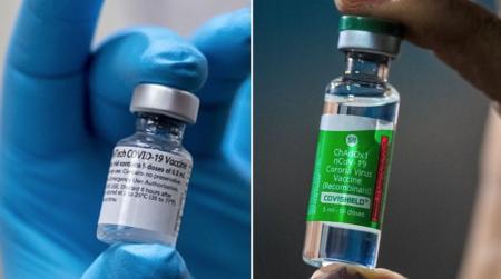 ファイザーとアストラゼネカのワクチンの組み合わせで強力な免疫反応が得られるとの新たなデマが登場